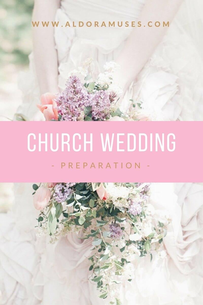 Church Wedding Preparation