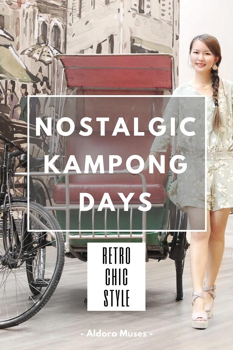 Retro Chic Style - A Kiss of Nostalgia