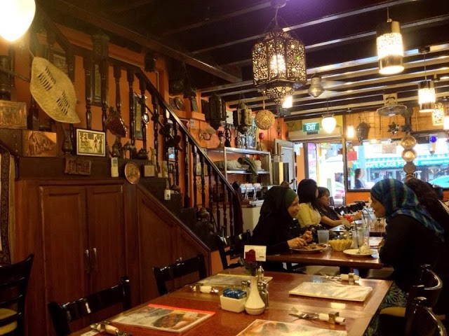 Exotic Foodie along Arab Street: Amirah's Grill