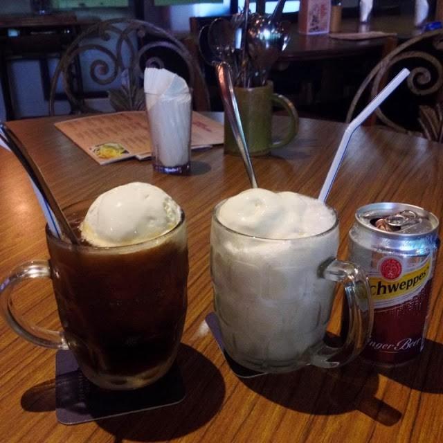 Root Beer Float & Ginger Bear Float