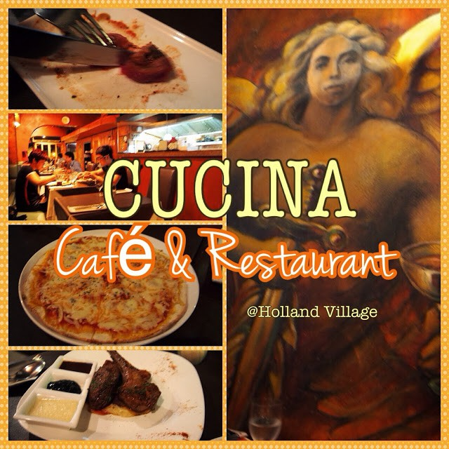 CUCINA Café and Restaurant, Holland Village