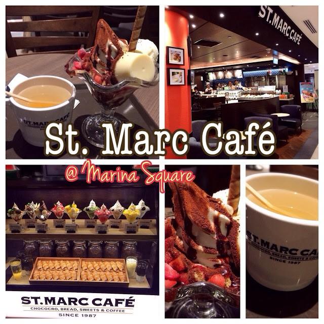 St. Marc Café, Marina Square