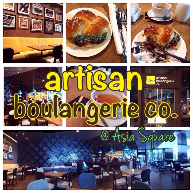 artisan boulangerie co., Asia Square (great alternative to Paris Baguette)