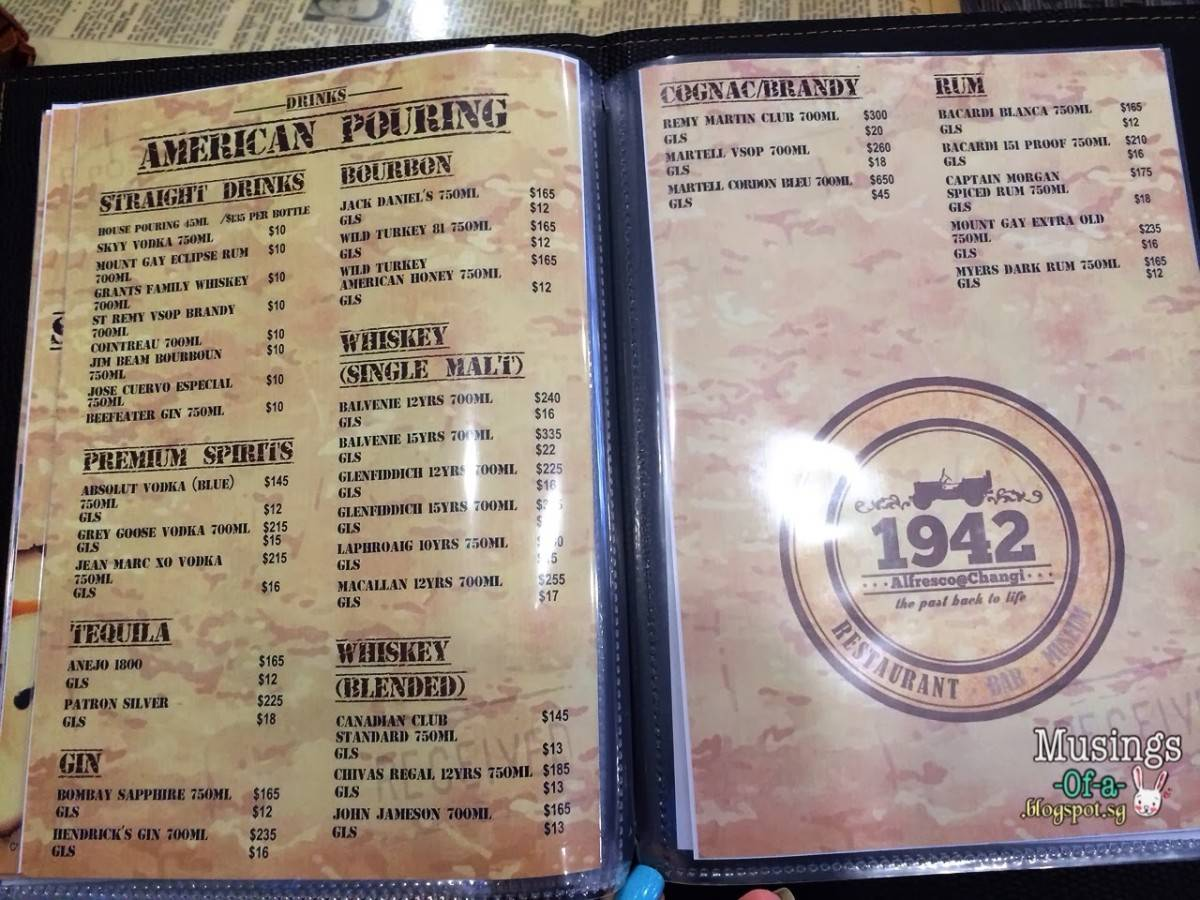 1942 Alfresco@Changi - Revival of 1940s Wartime (30 Cosford Road)