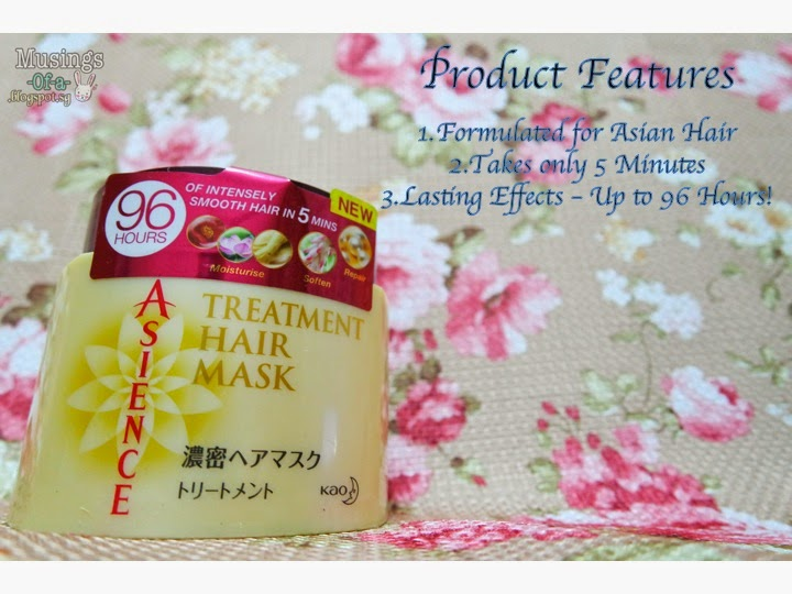 ASIENCE Treatment Hair Mask Review