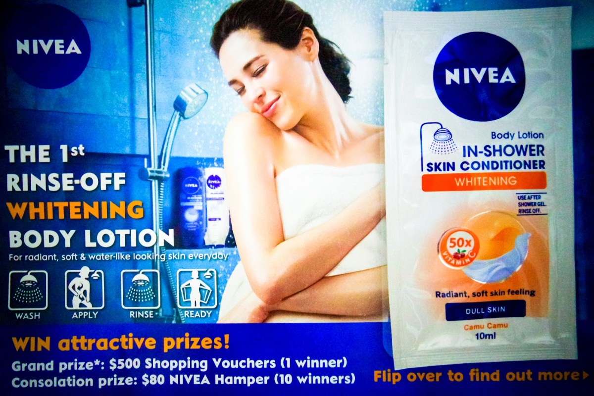 NIVEA In-Shower Skin Conditioner (Whitening) Review