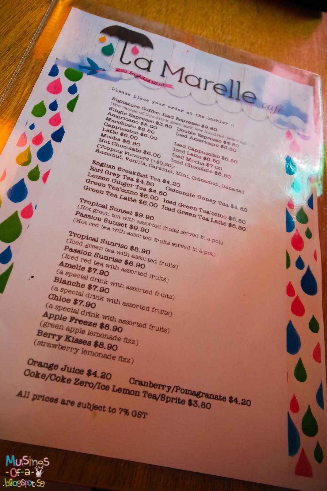 La Marelle Café & Boutique, Arab Street