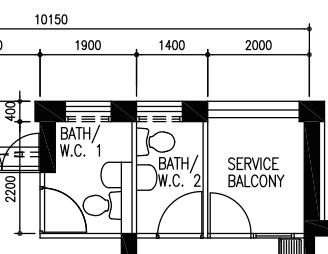 HDB 4A Floor Plan