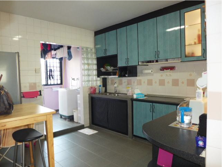 Revised 4 room hdb renovation ideas aldora muses Kitchen door design hdb