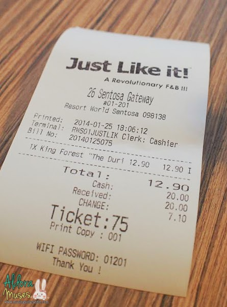 Just Like it!, Resorts World Sentosa