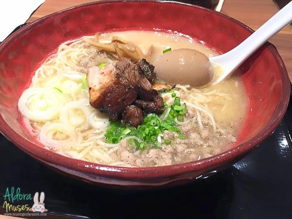 Chabuton Singapore - Launch of Premium Tonkotsu Ramen - The Kurobuta