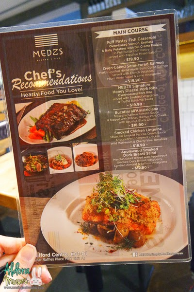 MEDZS Bistro & Bar, Clifford Centre