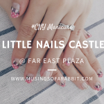 #CNY Manicure with Little Nails Castle