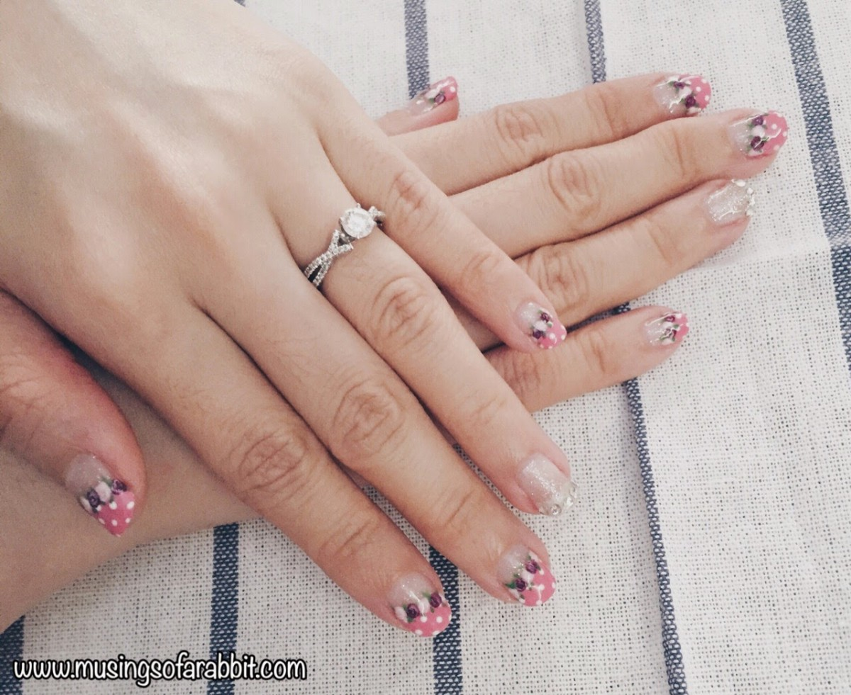 Little Nails Castle: CNY Manicure