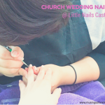 LittleNailCastle:NailsforChurchWeddingonApril