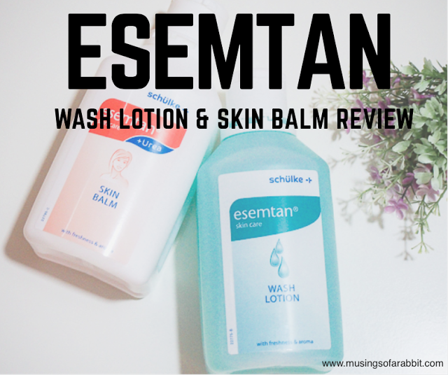 Esemtan Wash Lotion and Skin Balm Review