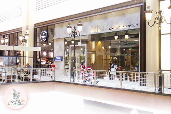 ZINC Korean Hair Salon, Millenia Walk
