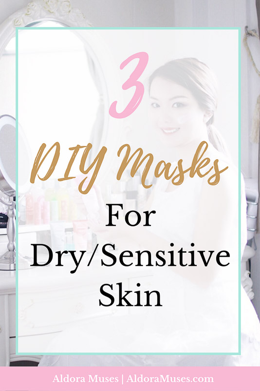 3 diy facial masks for dry sensitive skin aldora muses essential oils diy facial mask beauty dry skin sensitive skin soothing solutioingenieria Gallery
