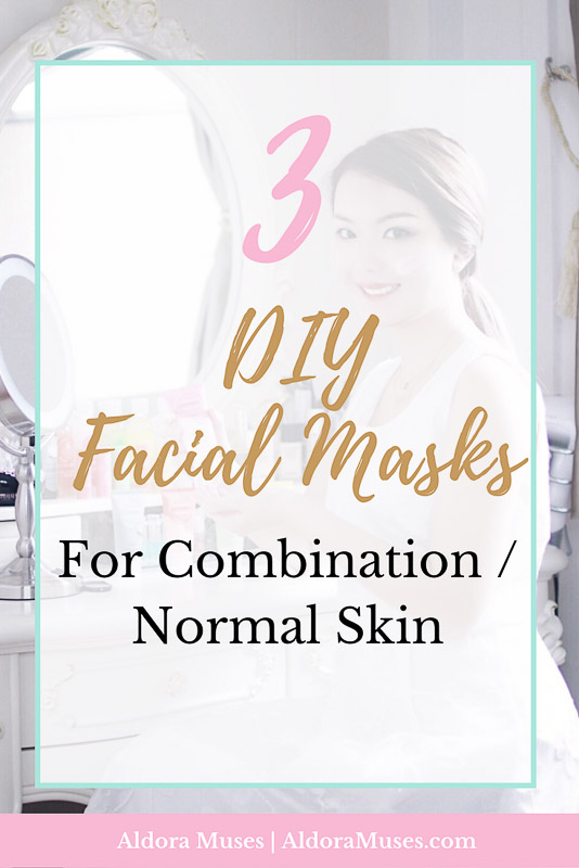 DIY Facial Masks, Combination Skin, Toxic Free, Healthy Living, Wellness, Health, Beauty, Normal Skin