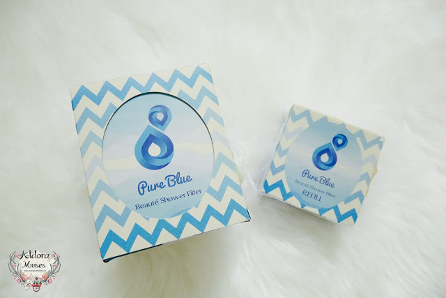 Pure Blue Beauté Shower Filter Review