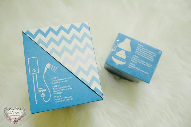 Pure Blue Beauté Shower Filter Review