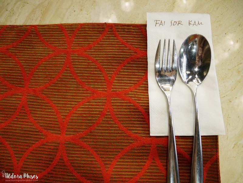 Dinner @ Fai Sor Kam