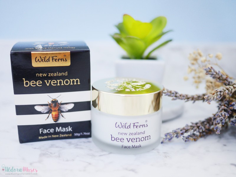 Wild Ferns Bee Venom Face Mask Review
