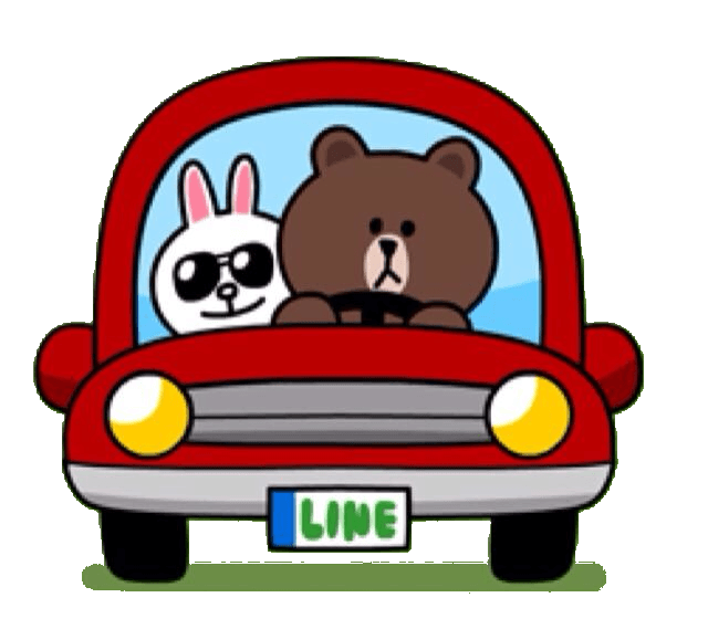 Brown and Cony Driving