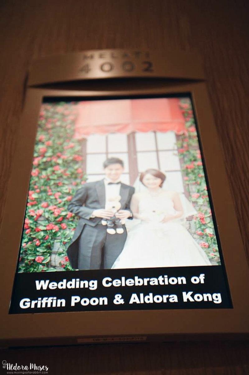 Wedding Banquet on 19 April 2015