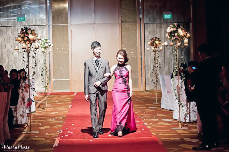 Wedding Banquet at Marina Bay Sands on 19 April 2015