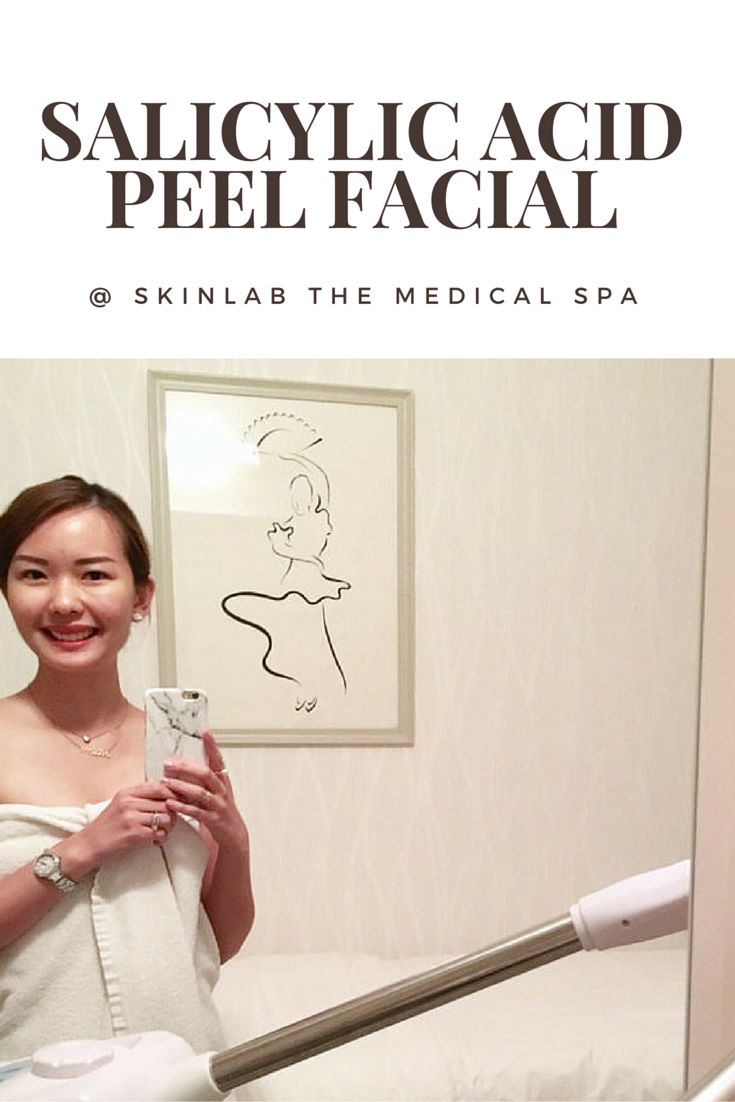Salicylic Acid Peel Facial @ SkinLab