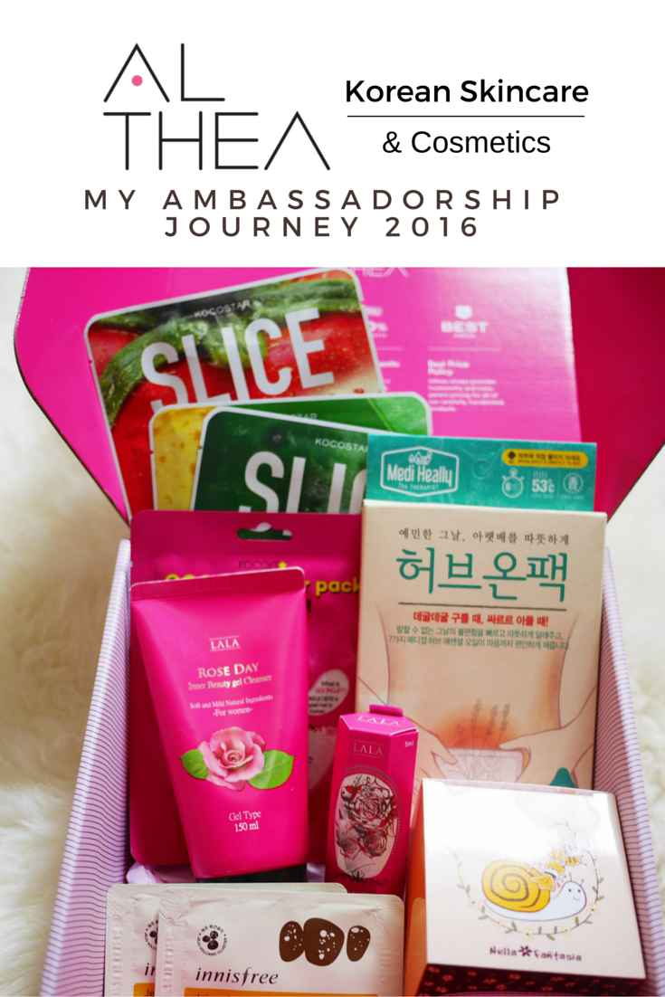 Althea Korea Ambassadorship 2016