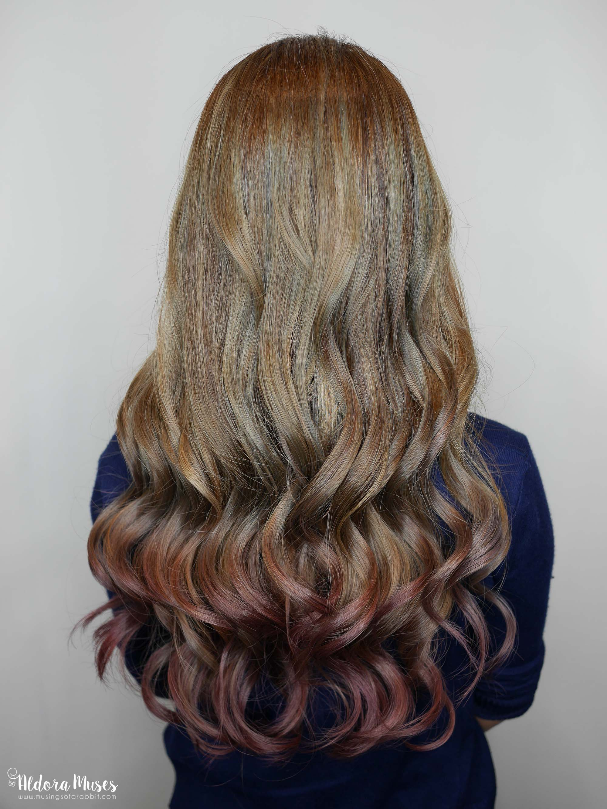 Chez Vous Hair Salon - Balayage Ombré Purple Hair