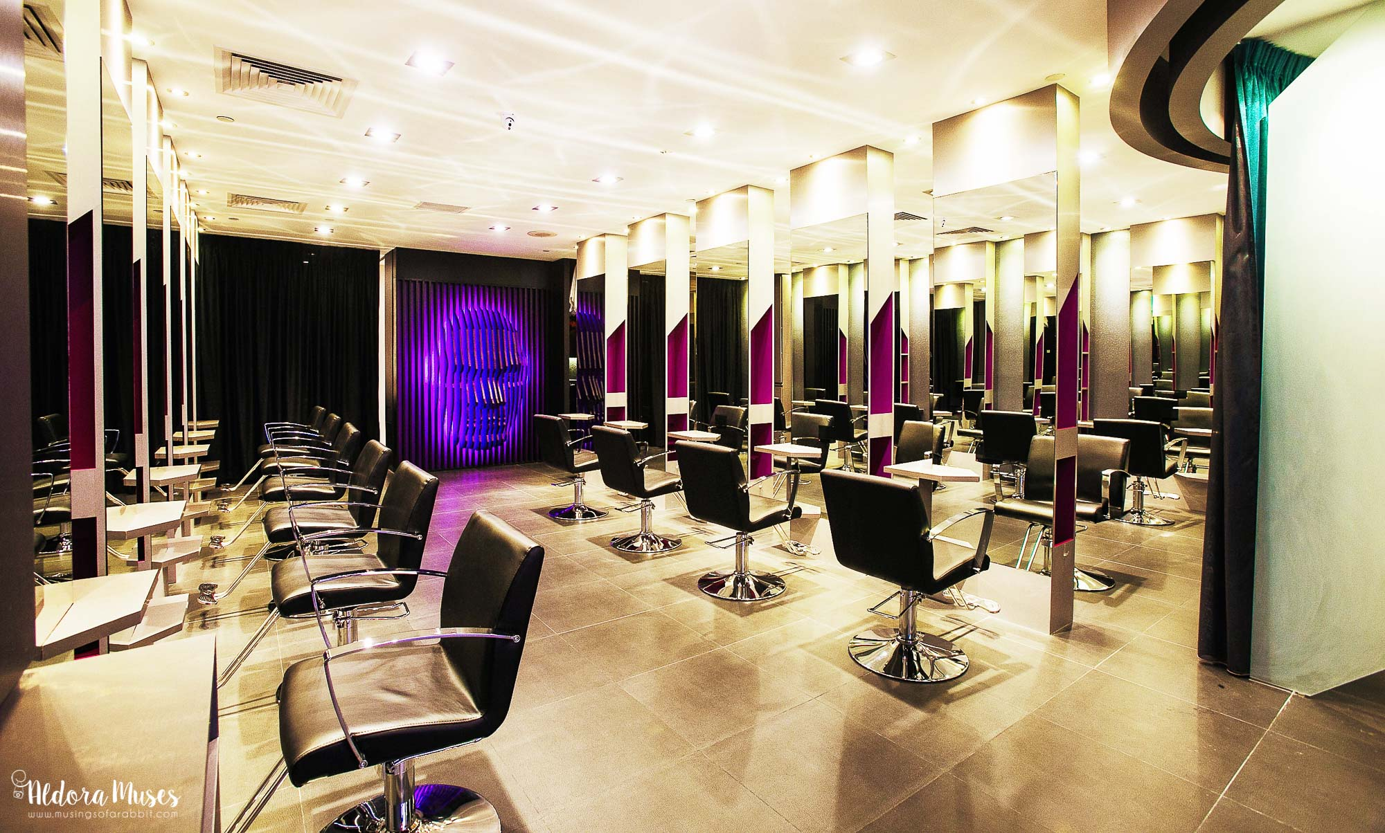 Chez Vous Hair Pte Ltd - Balayage Ombré Purple Hair