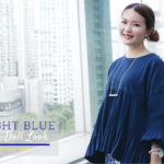 Midnight Blue Origami Doll Lookbook