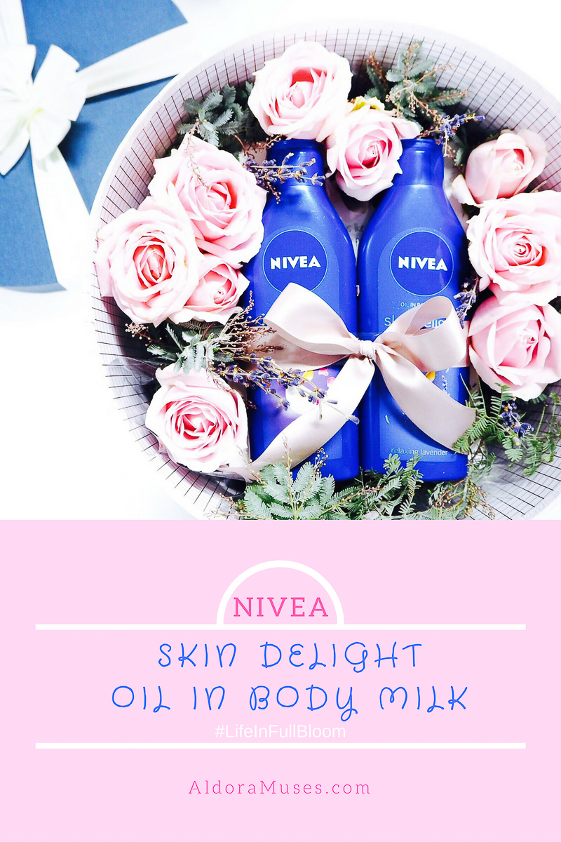 NIVEA Skin Delight Oil in Body Milk (#LifeInFullBloom)