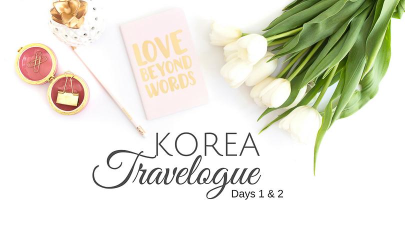 Korea Travelogue 2016: Myeongdong + Heritage Tour in Seoul