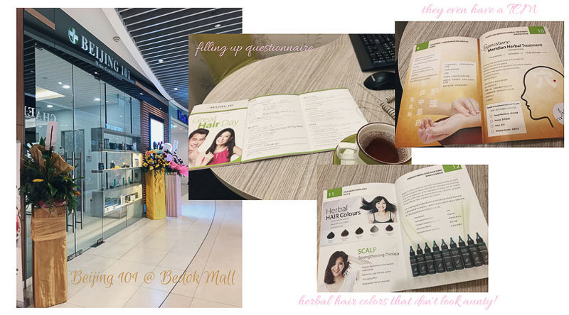 Signature Meridian Herbal Hair Treatment with Beijing 101 Review